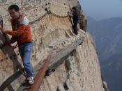 Hua Shan, Hiking