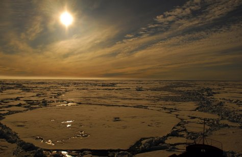 midnight sun arctic