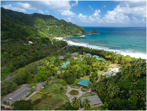 Dominica - Rosalie Bay Resort