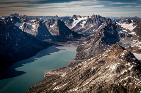 The remote East Greenland