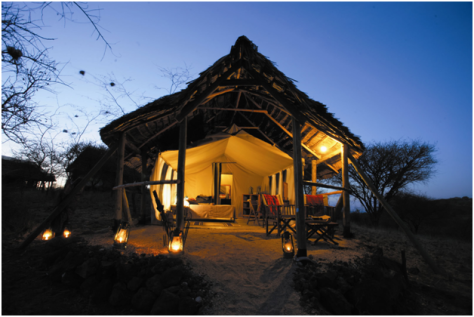 Tanzania - Kirawira luxury tented camp