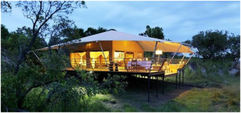 Tanzania - Kirawira luxury tented camp2