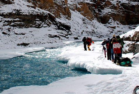 Chadar River