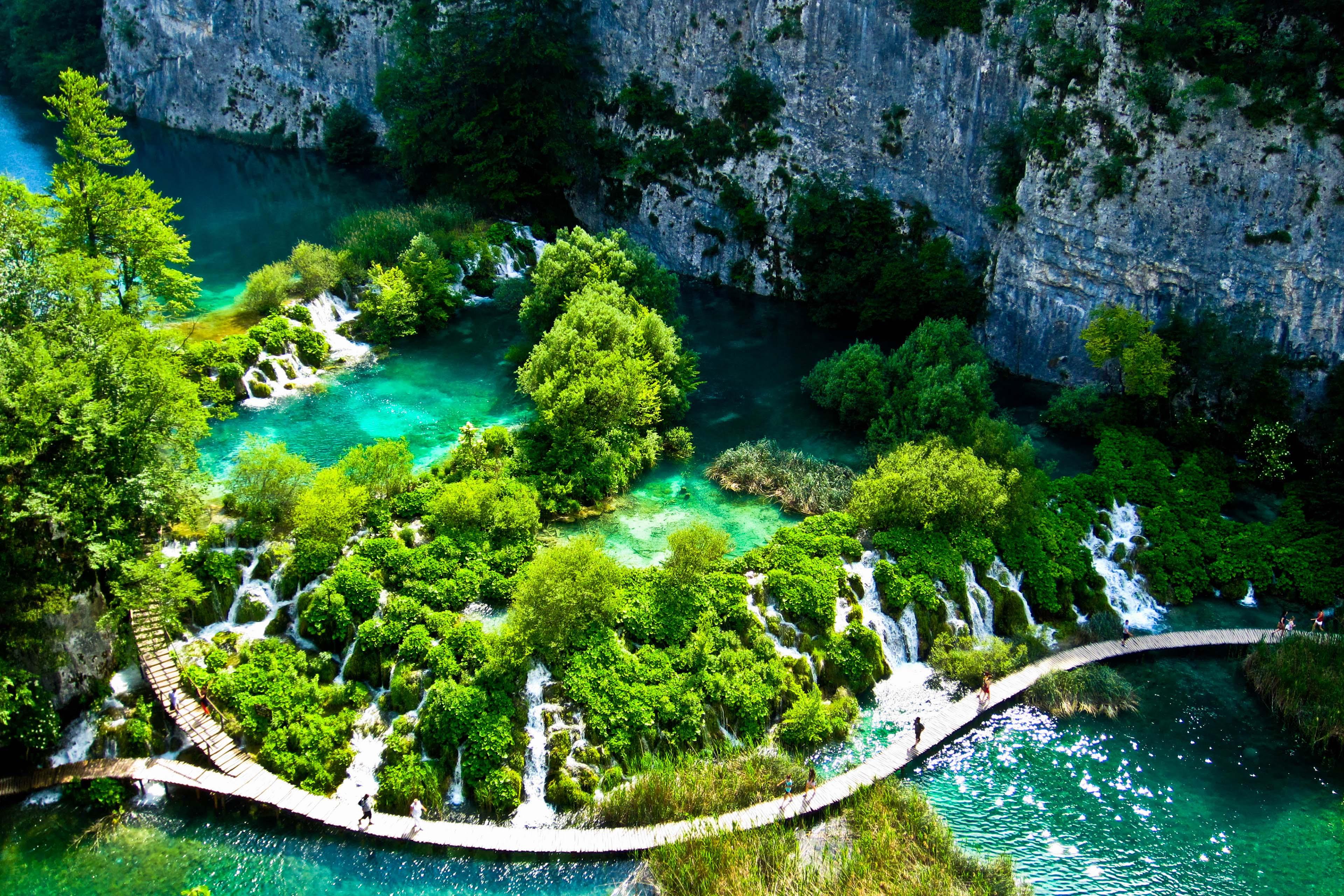 Плитвицкие озера хорватия фото