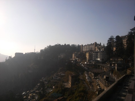 Shimla from ridge