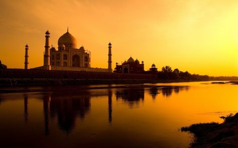 taj-mahal-sunset