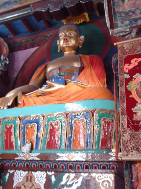 The buddhist Monastry