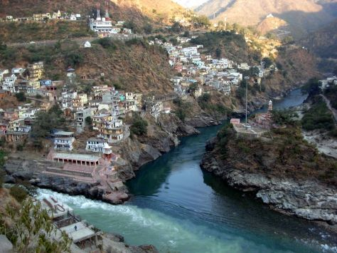 Alaknanda and Bhagirathi Rivers