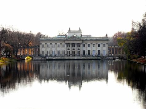lazienki palace poland