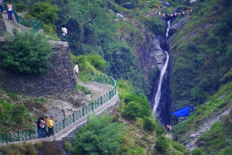 waterfall-mcleodganj