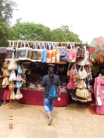 Konark Temple Market
