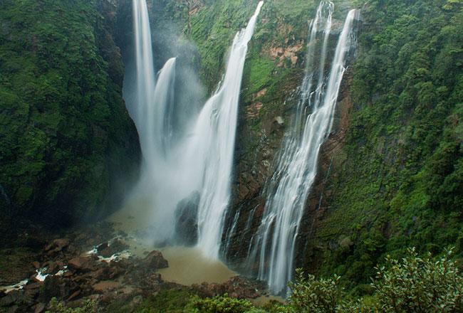 Jog Fall surroundings in Karnataka