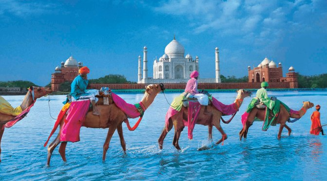 Beautiful sights of India