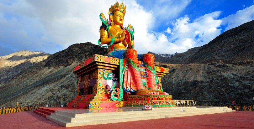Statue of the Buddha, Nubra Valley Ladakh