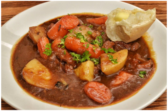 Feast on local Irish dishes