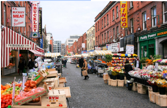 Visit Moore Street for fresh produce